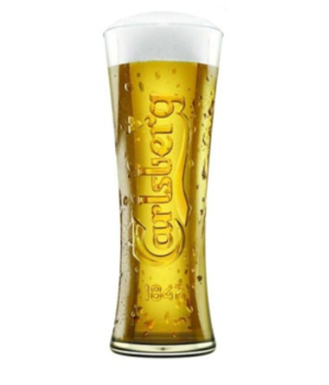 Branded Beer Glass