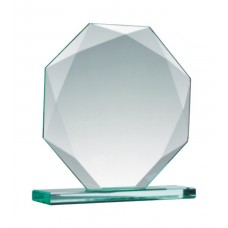 12cm Octagon Glass Award-228×228-0