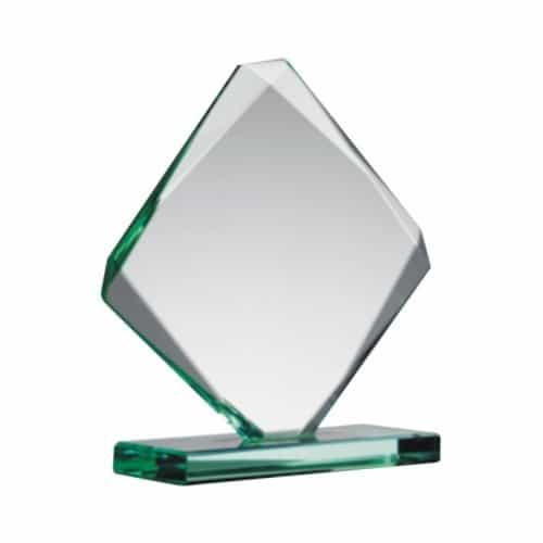 Jade Glass Award Cube 18cm-500×500-0