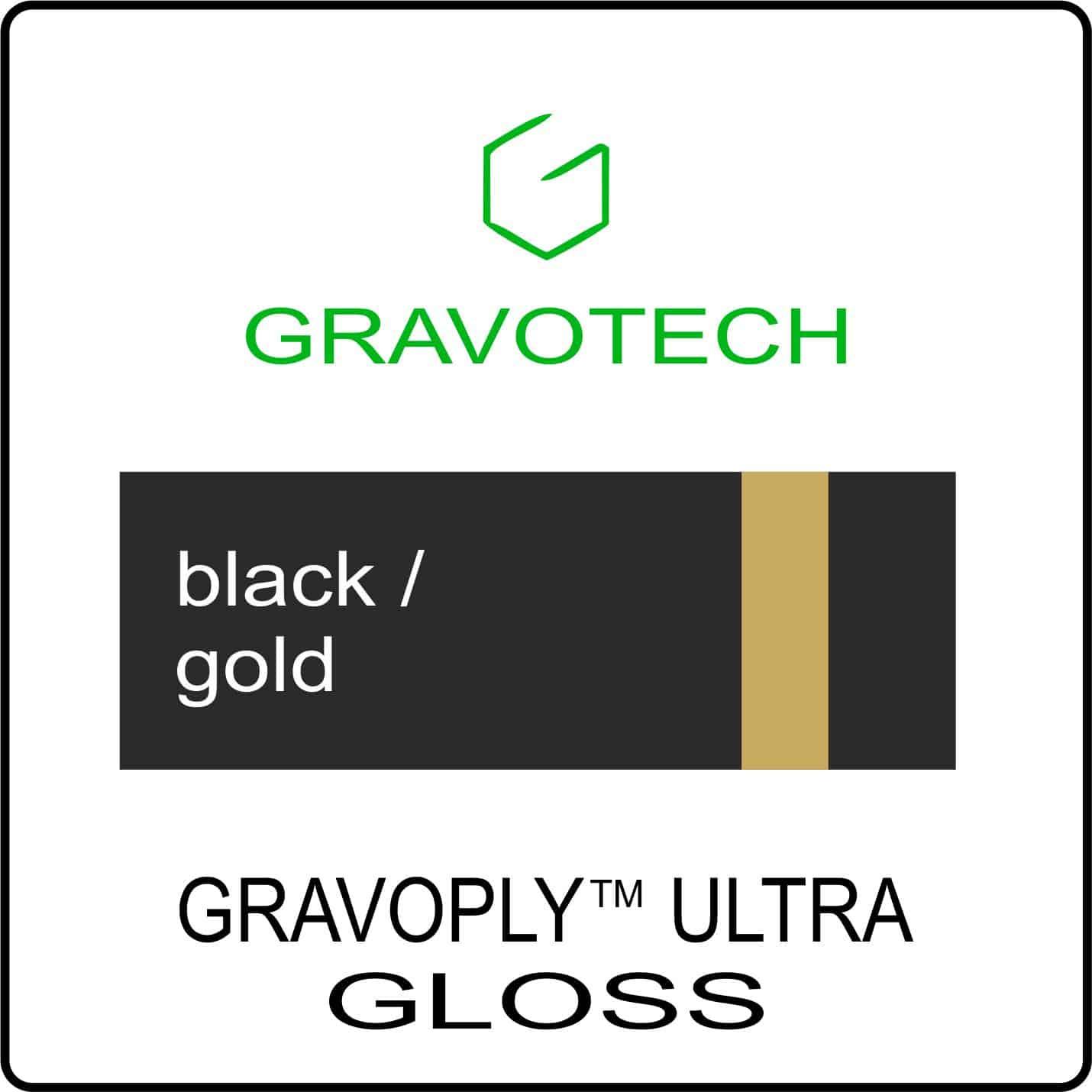 black gold clossy