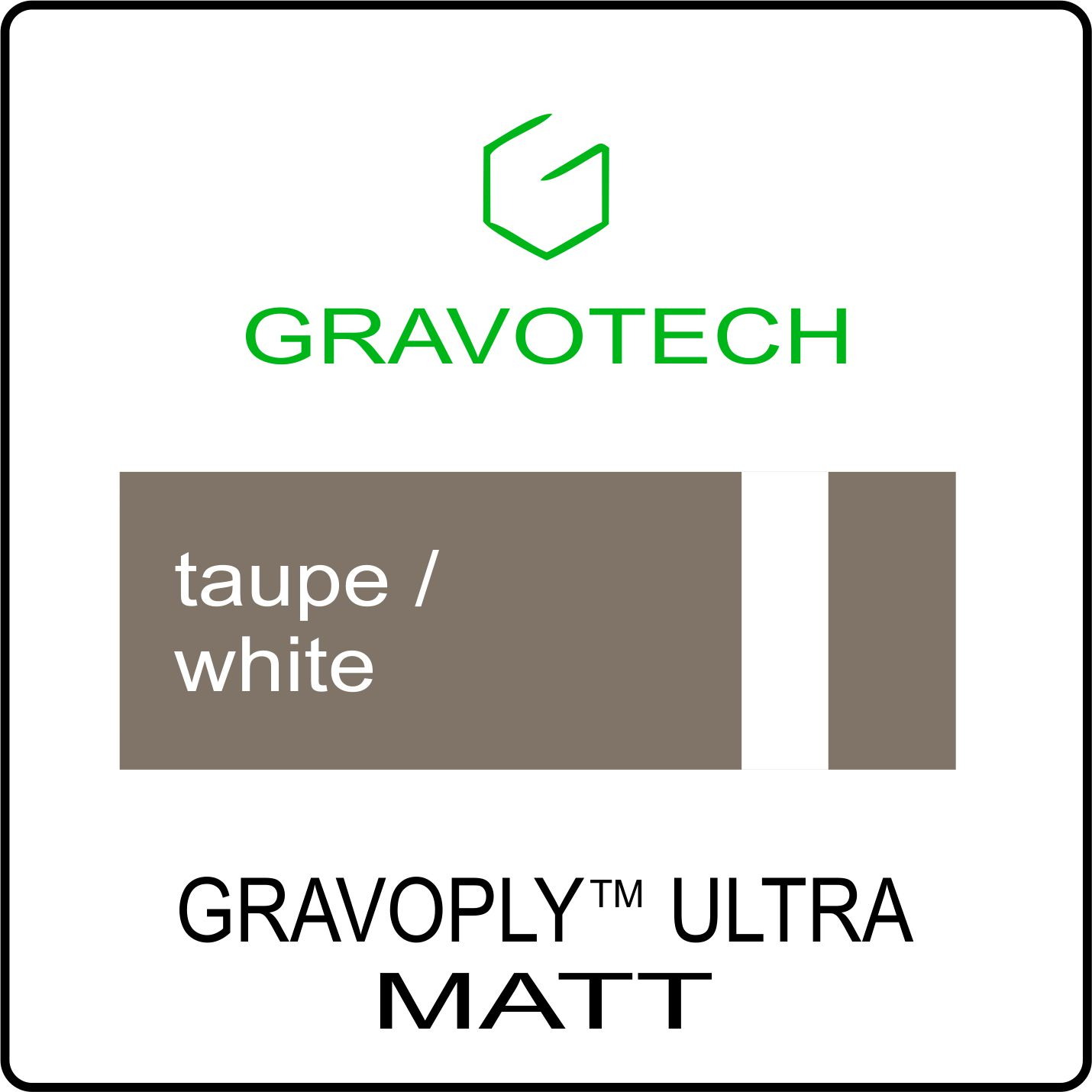 taupe white
