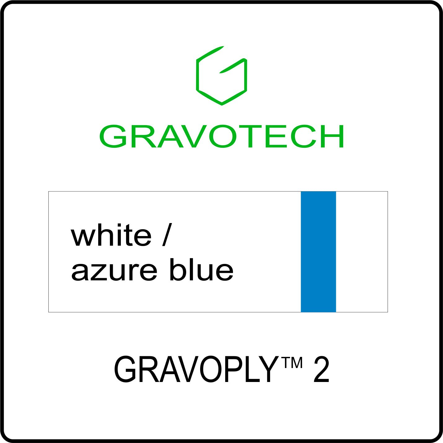white azure blue